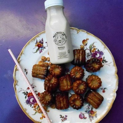 Gluten free cannelés with tiger nut from La Noix Tigrée